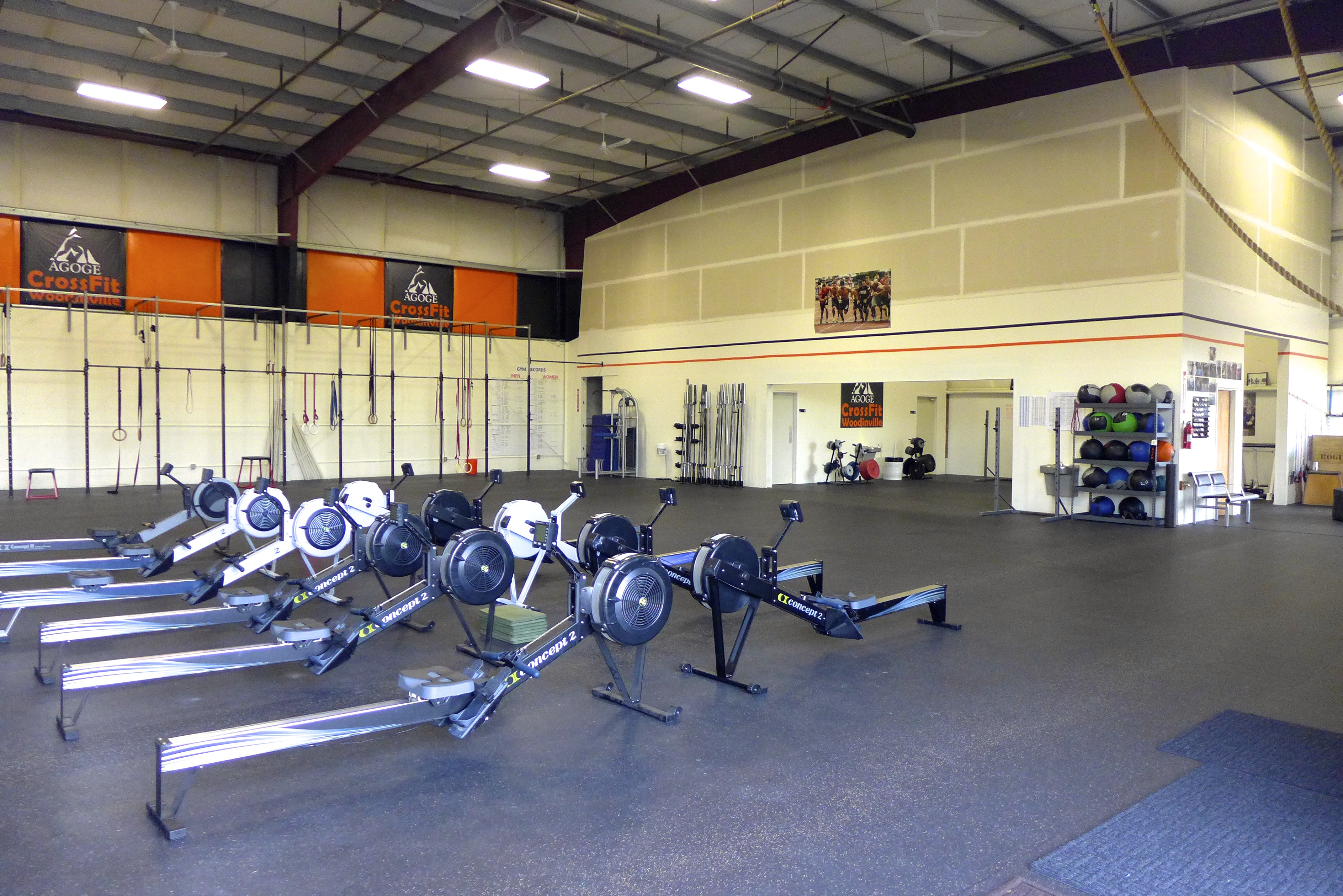CrossFit Facility serving Woodinville, Bothell and surrounding
